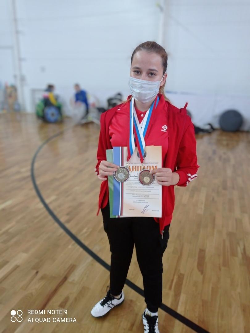 Завершился Чемпионат России по парабадминтону в г. Ставрополь с 5 по 10 ноября